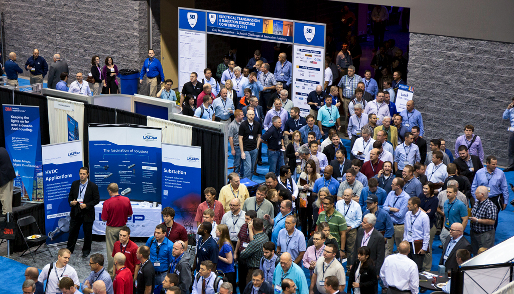 Exhibit Hall of the 2015 ETS Conference
